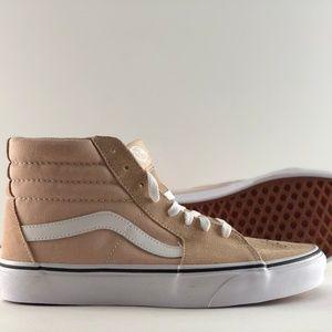 Vans SK8-Hi Frappe/True White Skate Shoes